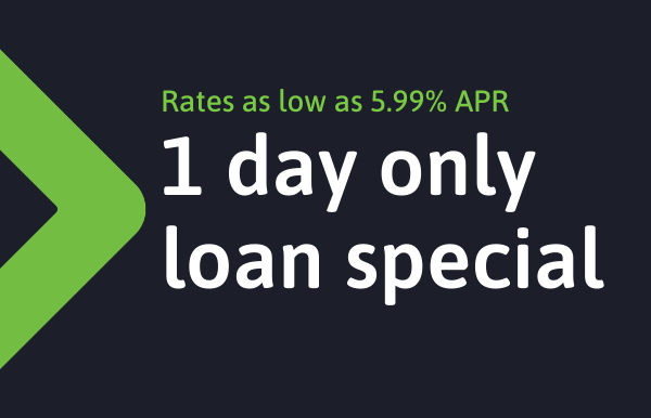 Canopy is offering a 1-day-only personal loan special