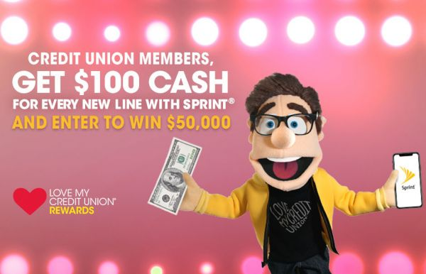 Get $100 for Every New Sprint Line