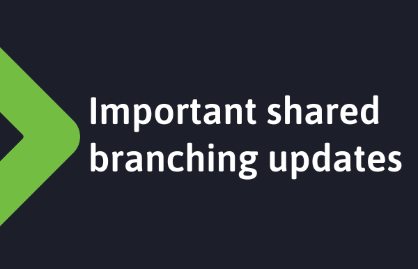 Important shared branching updates