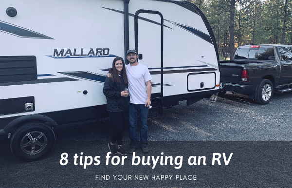 8 tips for buying an RV